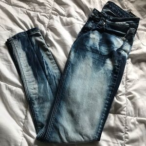 Multi blue jeans